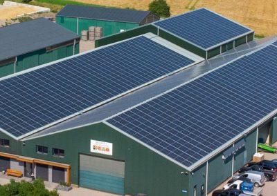 PV Installatie op eiland Tholen > 700 kWp